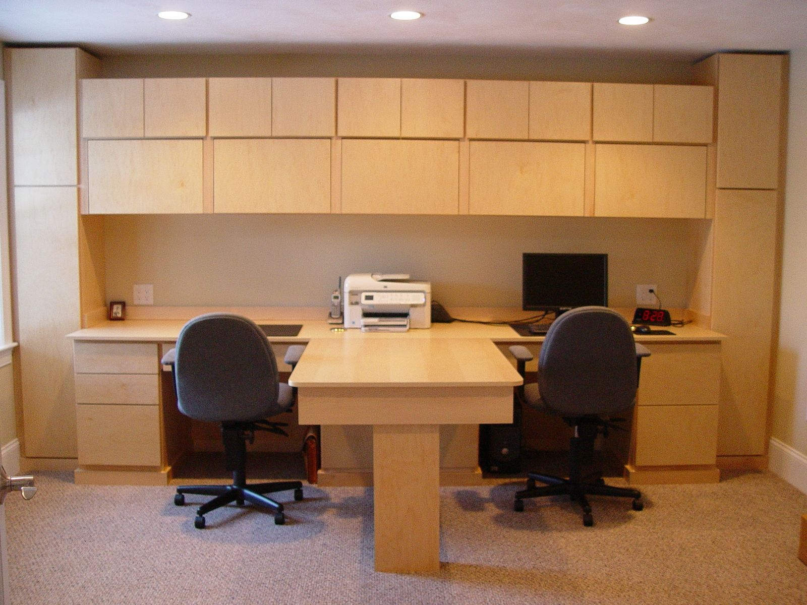 Handmade Custom Desk by Cp Woodcrafters Llc  CustomMadecom