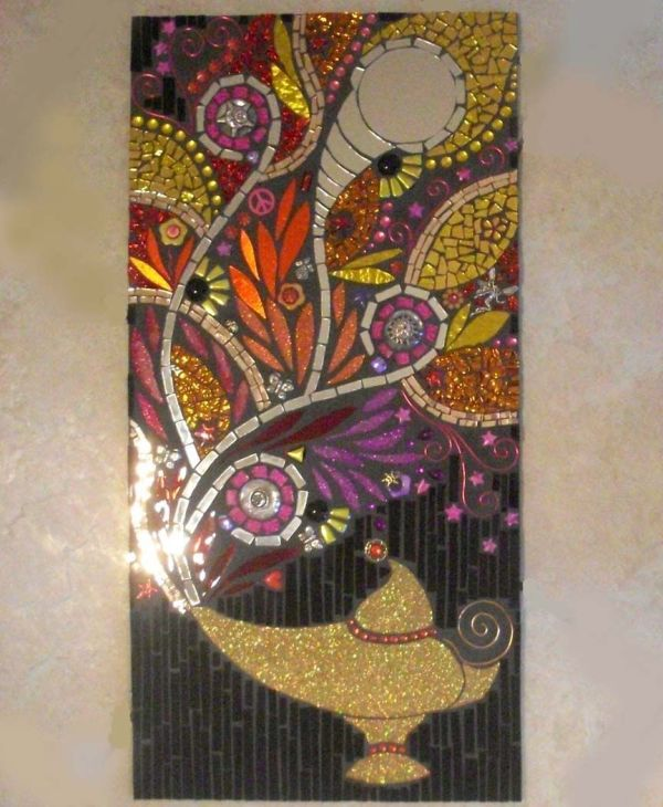 Stained Glass Mosaic Wall Decor
