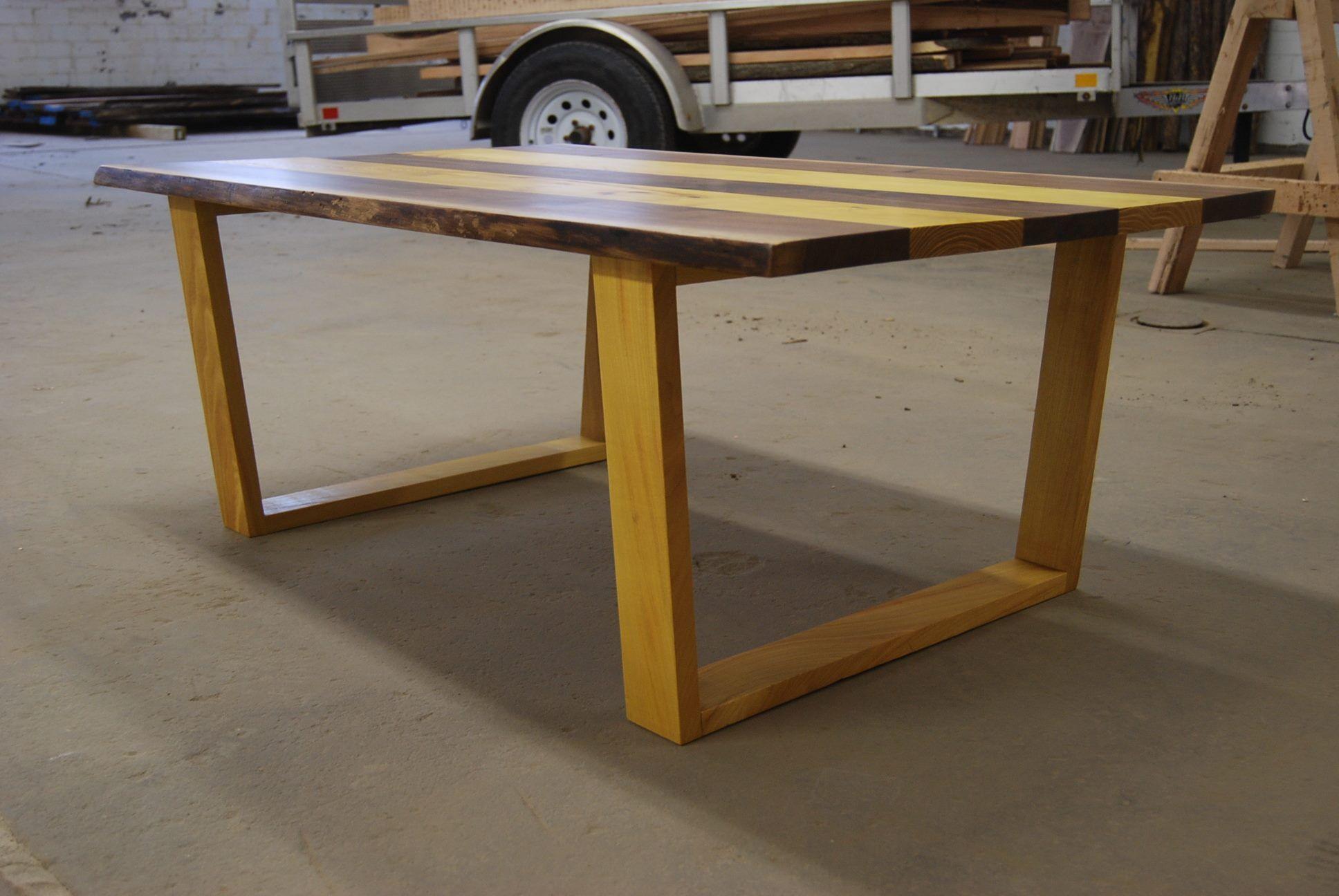Osage Orange Slab Table