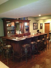Custom Home Bar Design Ideas