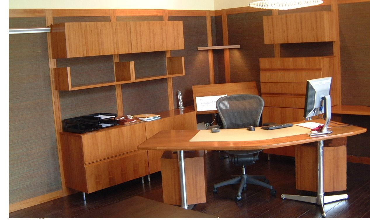 Hand Made Office Desk By Farrow Woodwork Manufacturing