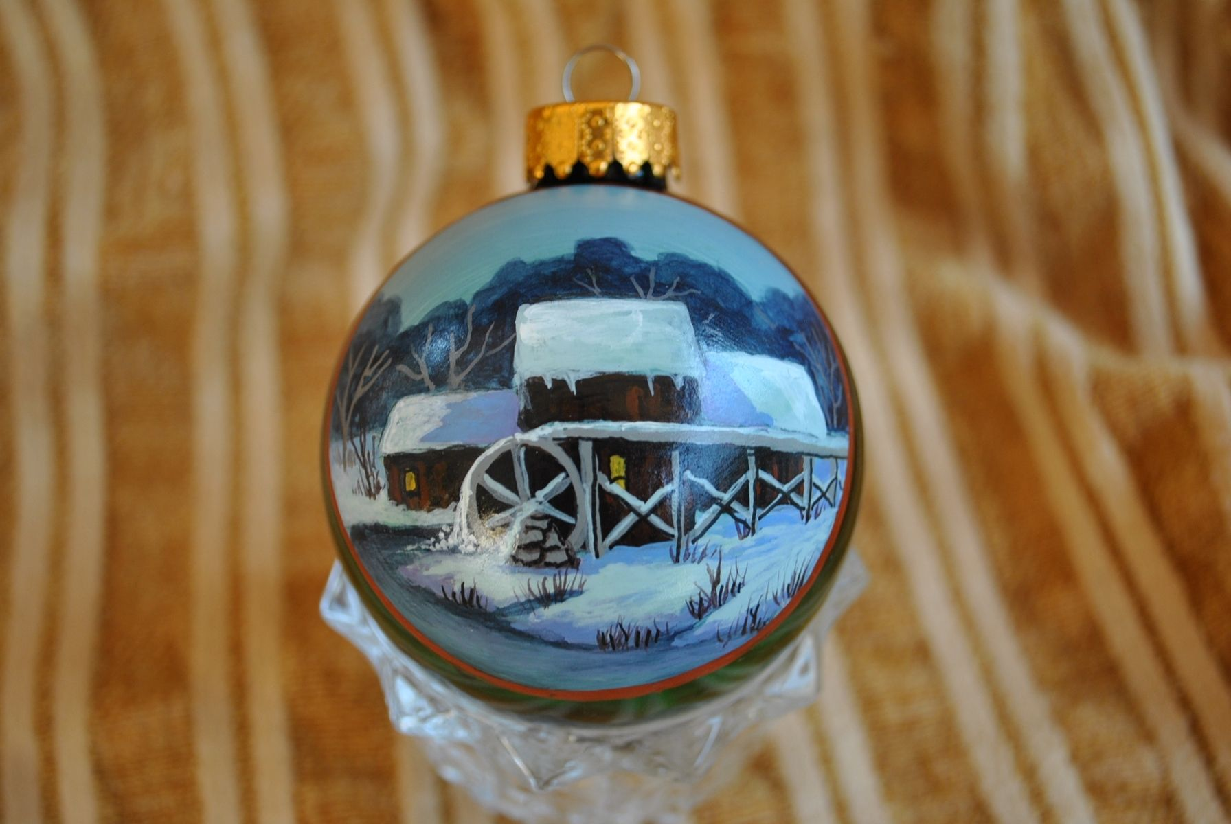 Custom Hand Painted Ornaments by Annetastic Designs