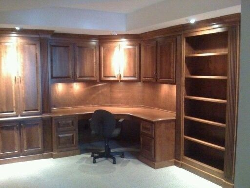 Hand Made Office Desk by Monarch Cabinetry  CustomMadecom