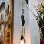 Hand Crafted Industrial Pulley Edison Bulb Pendant Light Fixtures Vintage By More Than Murals Custommade Com