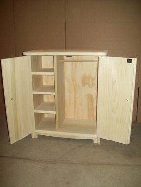 Custom 18 Doll Armoire By Pine Grove Woodshop