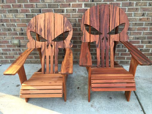 wooden skull chair tables and chairs for rent in orlando buy a custom adirondack made to order from carolina