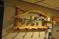Hand Crafted Custom Coat Rack by Phil's Woodwork ...