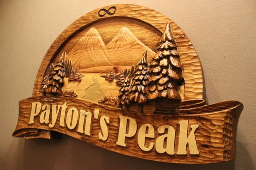 Hand Crafted Custom Wood Signs  Handmade Carved Signs  Memorial Signs  Mountain Signs