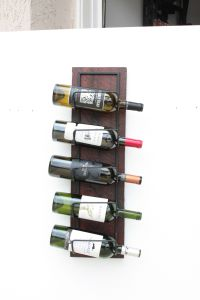 Buy Hand Made Wood Wall Wine Rack-Wall Mounted Wine Rack ...