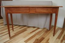 Custom Shaker Style Library Table Wooden Goose