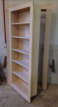 Handmade Secret Bookcase Door by Customcraft Homes ...