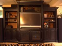 Handmade Entertainment Center by Terry's Fine Woodworking ...