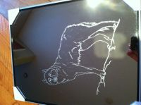 Handmade Etched Mirror by Custom Glass Etching ...