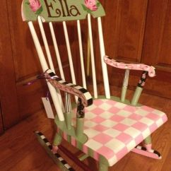 The Rocking Chair Store Hanging Stand Buy Hand Made Painted Childs Custom Colors And Designs, To Order From Michele ...