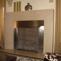 Custom Stainless Steel Fireplace Screen by Cranford ...
