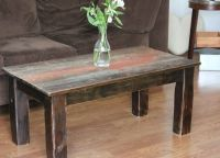 Hand Crafted Barnwood Coffee Table by Ross Alan Reclaimed ...