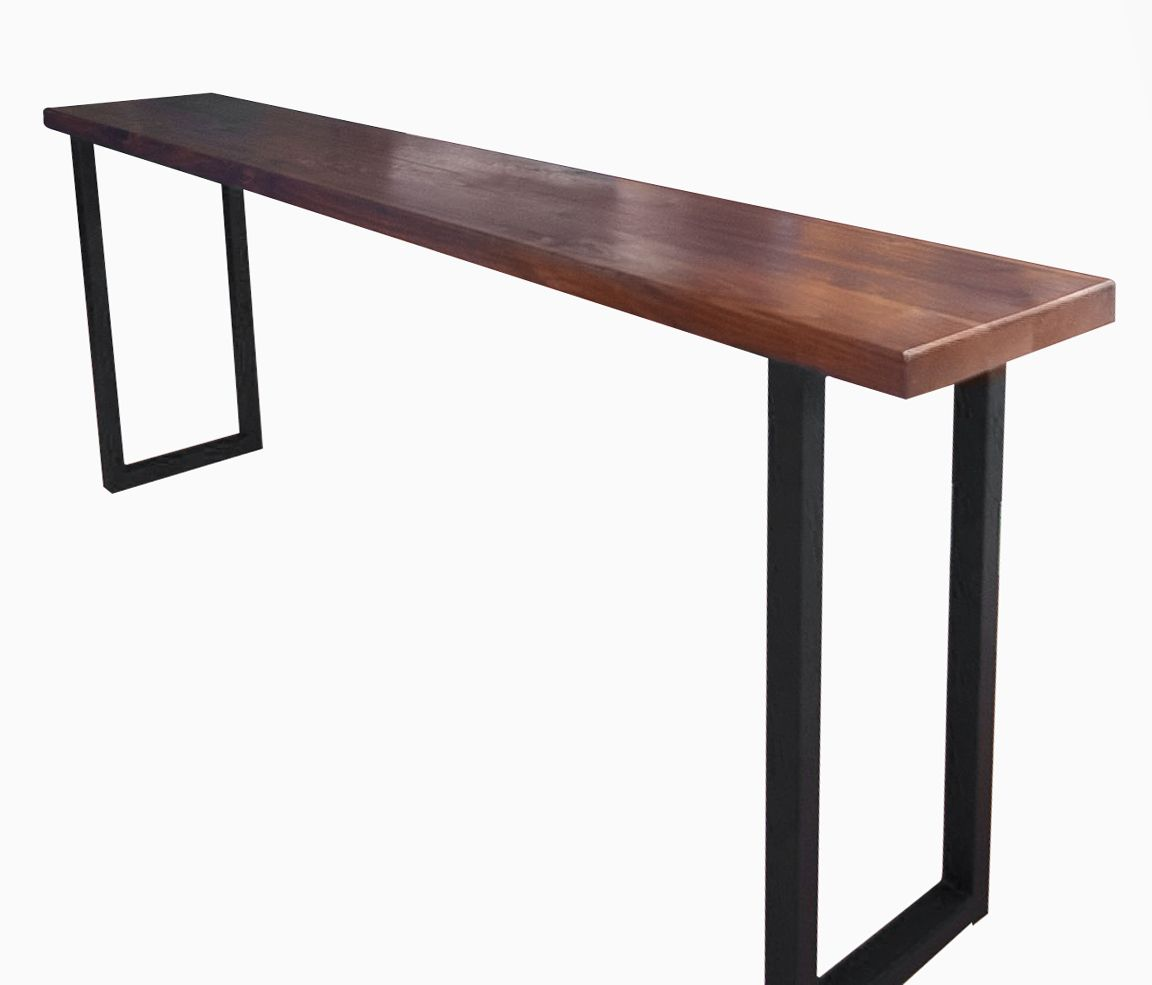 custom made sofa tables half square sofas buy a walnut and steel console table to