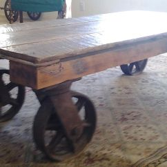 Rustic Desk Chair No Wheels Heavy Duty Chairs Industrial Coffee Table With Home Design