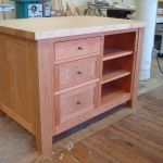 Hand Made Freestanding Craft Table Kitchen Island By Kelsh
