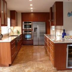 Mahogany Kitchen Cabinets Washable Rugs Custom Modern By Natural Mystic