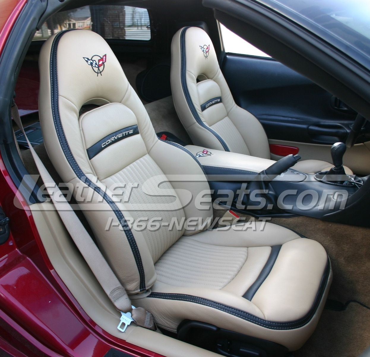 corvette seat office chair reclining camp handmade custom chevrolet c5 italian leather