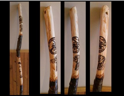 Buy a Custom Made Wood AnniversaryRetirement GiftHiking