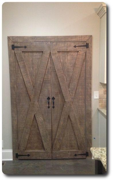 Custom Barn Pantry Doors Pair by Tennesseebarndoors
