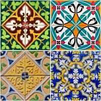Hand Crafted Hand Painted Tiles by LisaMacDesigns ...
