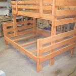 Custom Made Twin Over Full Bunk Bed By Cry N Crick Custom Woodworking Custommade Com