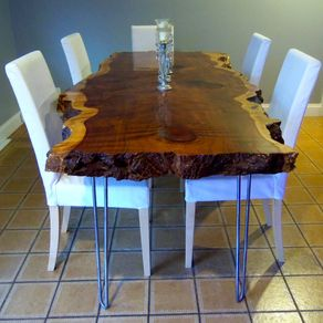 live edge kitchen table top appliance brands dining tables custommade com redwood by sean kearns