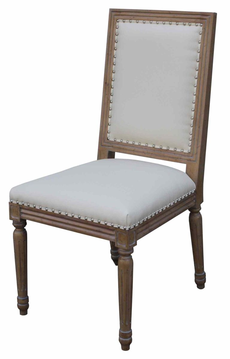 Hand Crafted Classic Custom Wood And Upholstered Dining