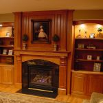 Custom Made Fireplace Mantel And Built In Shelving By Bbg Woodworks Custommade Com