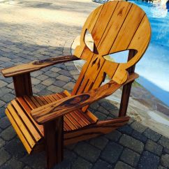 Wooden Skull Chair Childrens Plastic Table And Chairs Buy A Custom Adirondack Made To Order From Carolina Wood Designs Custommade Com