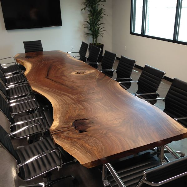Black Walnut Live Edge Conference Tables
