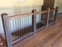 Custom Reclaimed Stair Railings by Stone Creek Cabinetry