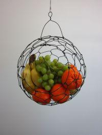 Custom Made Hanging Wire Fruit Basket by CharestStudios ...