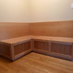 Banquette Bench Kitchen Ideas For Walls Custom Cherry By Near West Custommade
