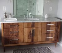 Handmade Custom Bathroom Vanities by Furniture by Phoenix ...
