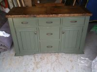 Hand Crafted Distressed, Painted Sideboard by Jeremy ...