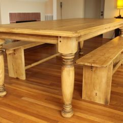 Kitchen Table Legs Tables & More Custom Made Farm W Hand Turned By Farmhouse