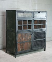 Buy a Hand Crafted Modern Industrial Liquor / Wine Cabinet ...