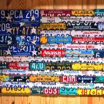 Handmade License Plate Art By The Junk Bunk Custommade Com