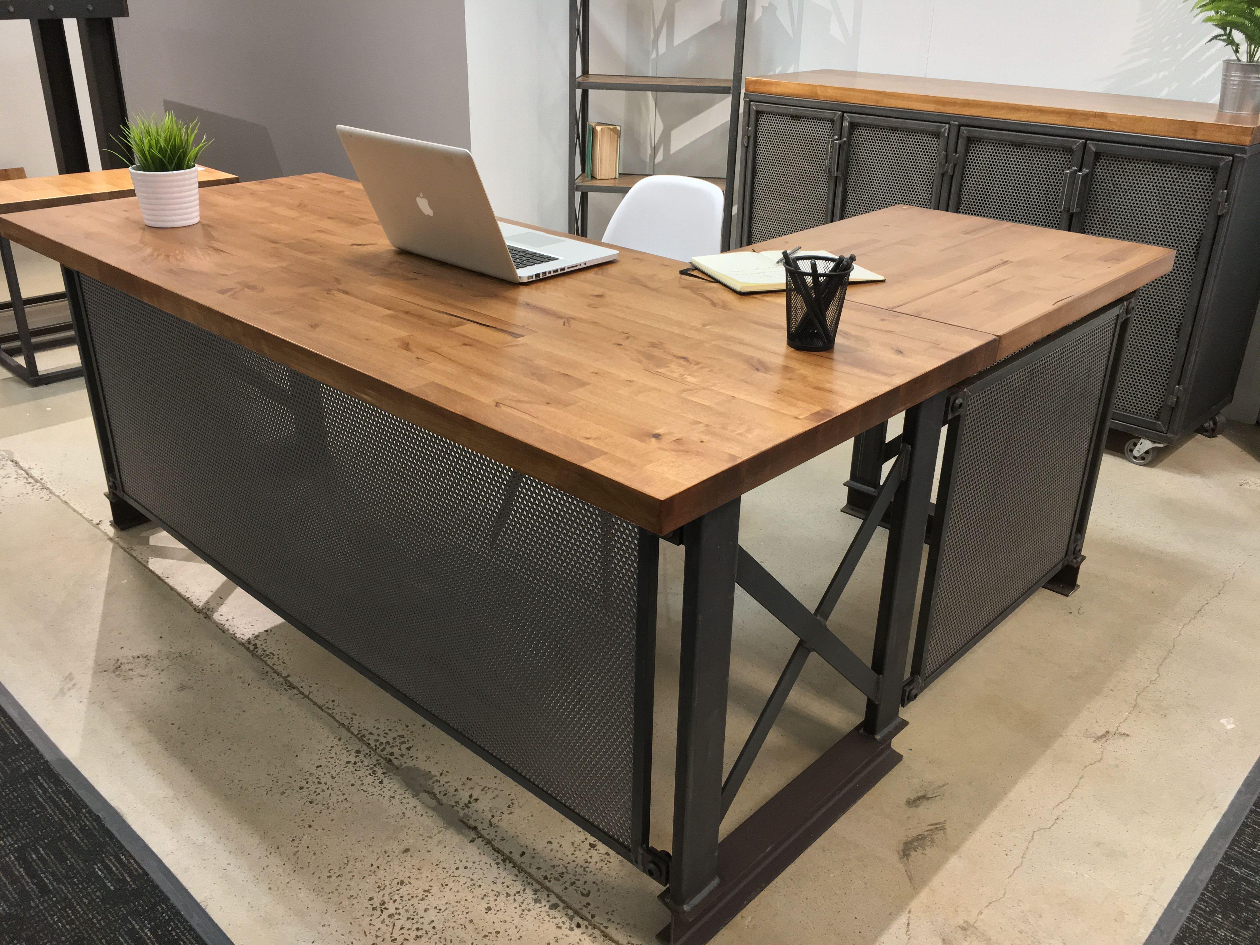 Custom The Carruca Desk by Iron Age Office  CustomMadecom