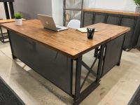 Custom The Carruca Desk by Iron Age Office | CustomMade.com
