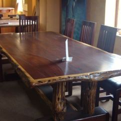 10 Chair Dining Table Set Salon Sink And Hand Made Seat Ironwood By African Yellowood Custom