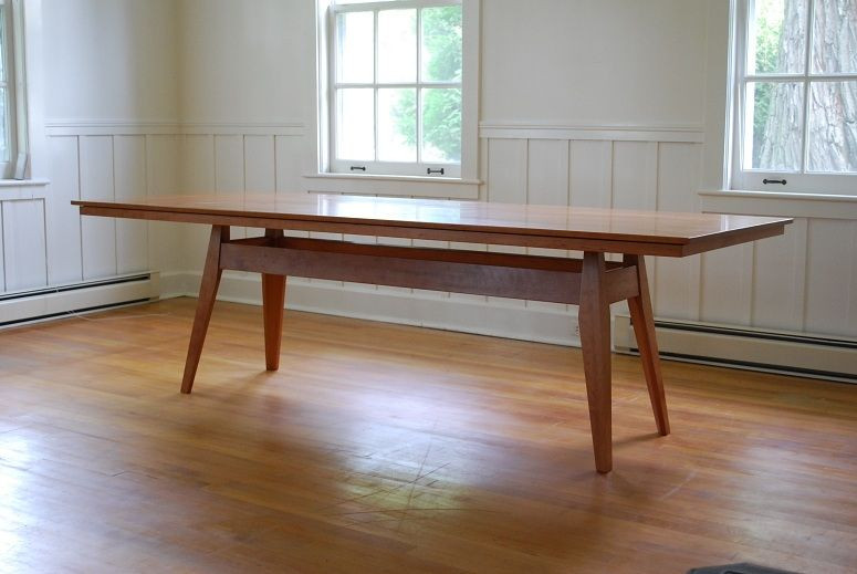 Handmade Cherry Dining Table By Mark Wilson Furniture