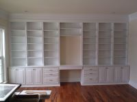 Handmade Built In Home Office by A