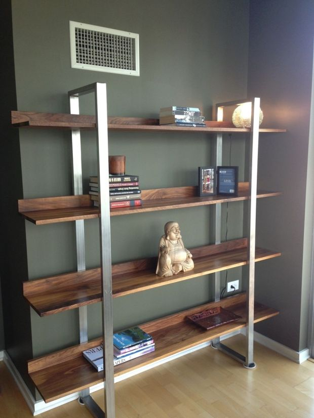 stainless steel bookshelves - Steel Bookshelves