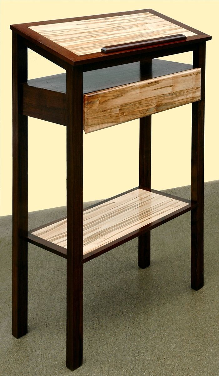 Hand Made Podium StandUp Desk Book Stand by Mountain