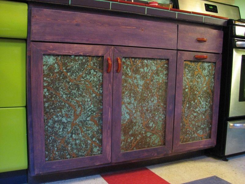 Custom Made Metal Cabinet Door Panels By Dale Jenssen